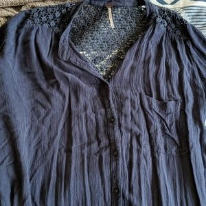 """Free people """"the best"""" button down"""